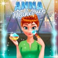 Frozen Anna Makeover Play