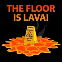The Floor is Lava Play
